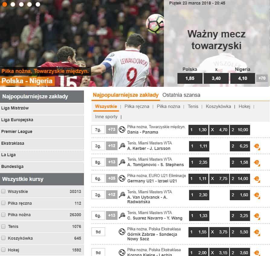 Strona oficjalna Expekt Polska