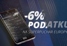 Niski podatek bukmacherski na Superpuchar Europy 2018!