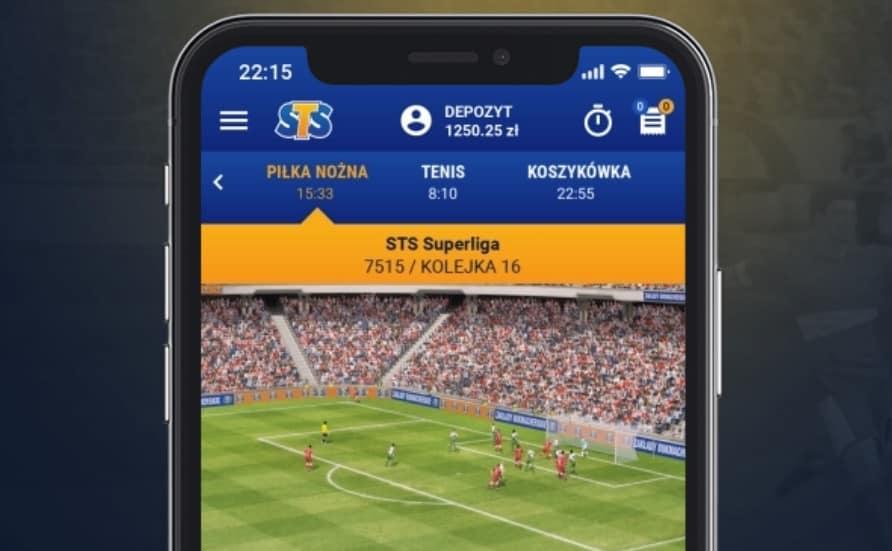 Wirtualne Sporty STS na telefon