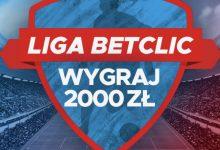 Konkurs w Betclic Polska. Do wygrania co tydzień nawet 2000 PLN!