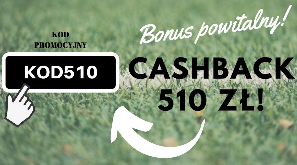 Betclic bonus powitalny EKSTRA! Kod na 510 złotych zamiast standardowej oferty!