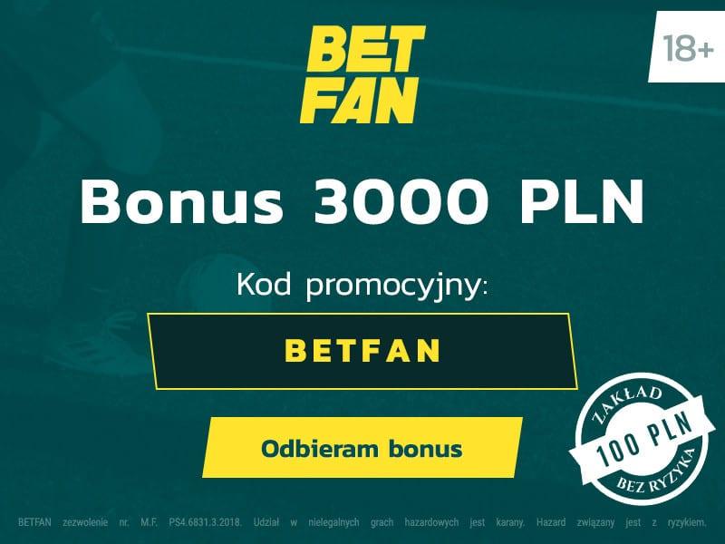 polski bukmacher betfan online bonus