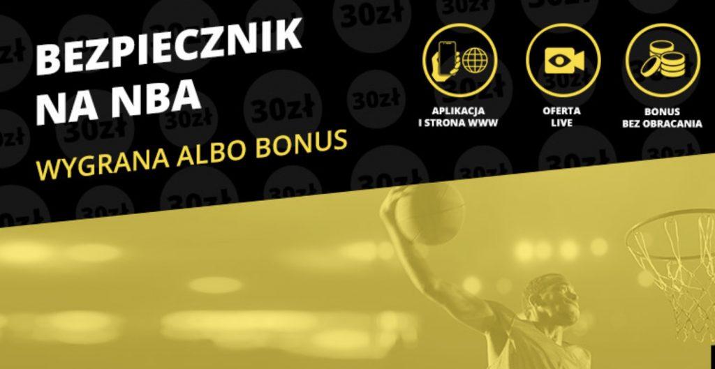 30 PLN od Fortuny na inaugurację NBA!