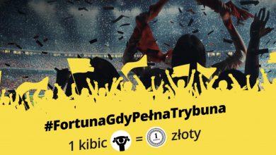 Photo of Fortuna mobilizuje kibiców. 1 PLN dla chorych dzieci za każdego fana na trybunach!