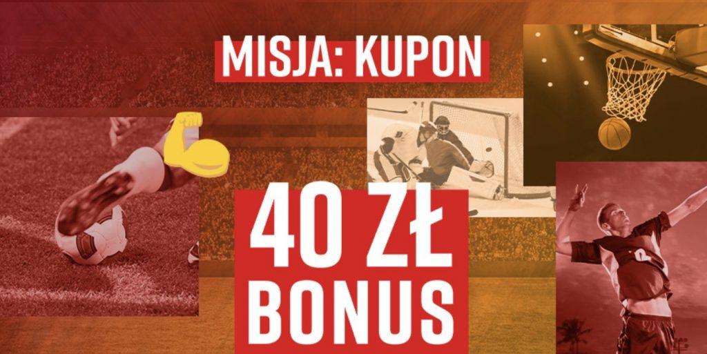 40 PLN za weekendowe kupony w Betclic Polska!