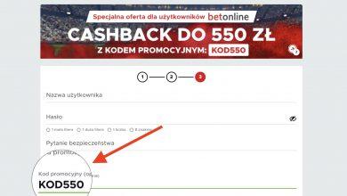 Photo of Bonus powitalny w Betclic 2020. Kod promocyjny KOD550 – największy cashback 550 zł!